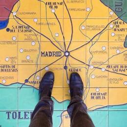 No perderse de Madrid. Libro Los Pilares de Madrid