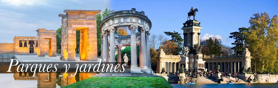 Parques y jardines de Madrid. Libro Los Pilares de Madrid